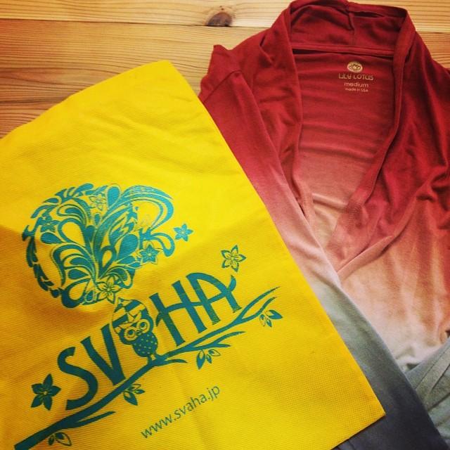SVAHA 登場!!1/29より、ヨガウエアショップ SVAHAさんとコラボイベント開催します。