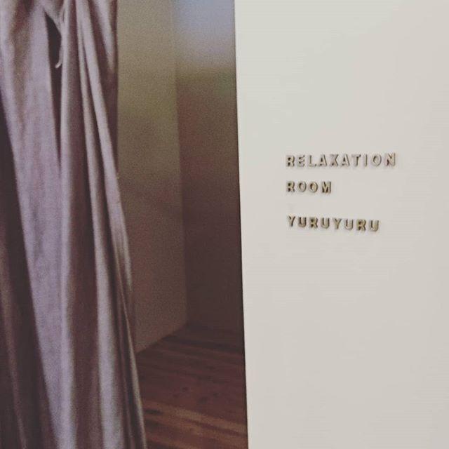 今日と明日はこちらYURUYURUが更衣室です美骨盤トレーニング満員御礼♪ありがとうございました(*^^*)