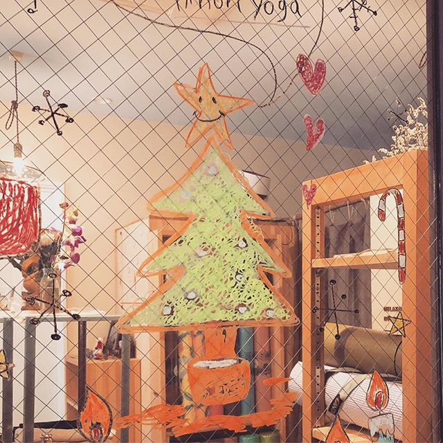 今日もありがとうございました^ - ^素敵なクリスマスをお過ごしくださ〜い!サンタに変身の術︎